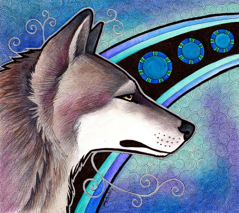 The Winter Wolf by Ravenari