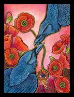 The Wisdom Of The Poppy by Ravenari