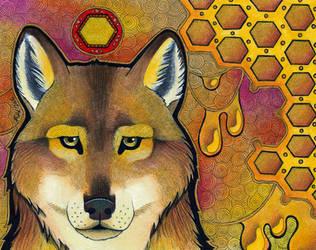 Honey Wolf by Ravenari