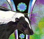 Striped Skunk as Totem