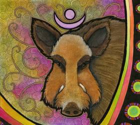 Wild Boar as Totem II