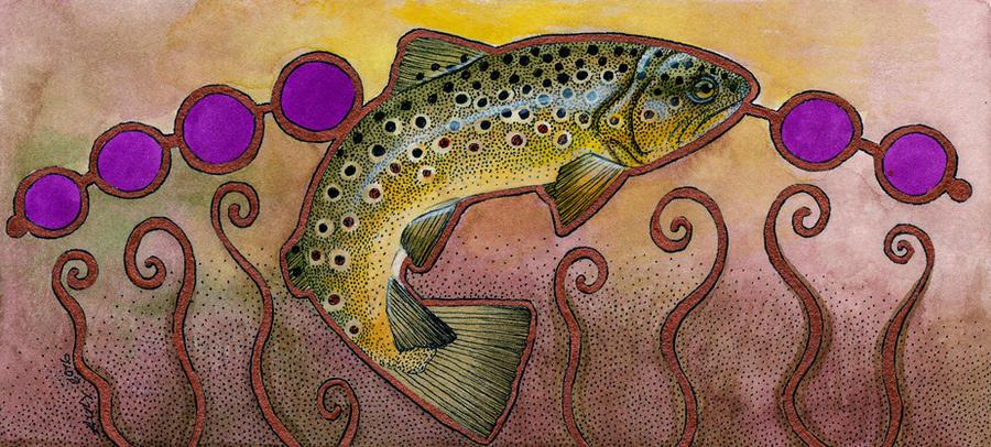 Gillaroo (Trout) by Ravenari