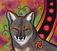 Darwin's Fox as Totem by Ravenari