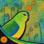 Orange Bellied Parrot as Totem