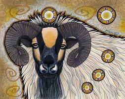 Icelandic Sheep as Totem by Ravenari