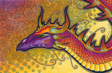 Inner Flame Dragon by Ravenari