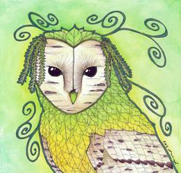 The Aspen Owl by Ravenari