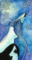 Blue Series - 02 Australian Magpie by Ravenari