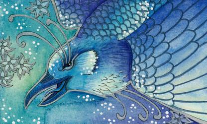 Blue Series - 03 Raven by Ravenari