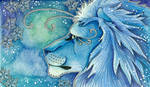 Blue Series - 05 Lion