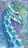 Blue Series - 06 Giraffe