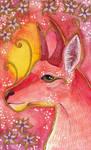 Rose Series - 06 Bohor Reedbuck (Antelope)