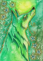 Green Series - 01 Fox by Ravenari