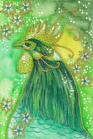 Green Series - 02 Rooster by Ravenari