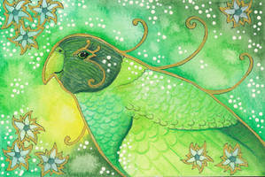 Green Series - 03 28 Parrot by Ravenari