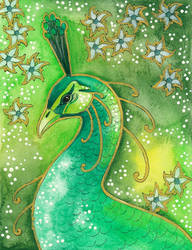 Green Series - 06 Peacock by Ravenari