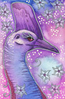 Violet Series - 02. Cassowary by Ravenari
