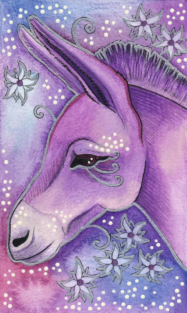 Violet Series - 05. Donkey by Ravenari