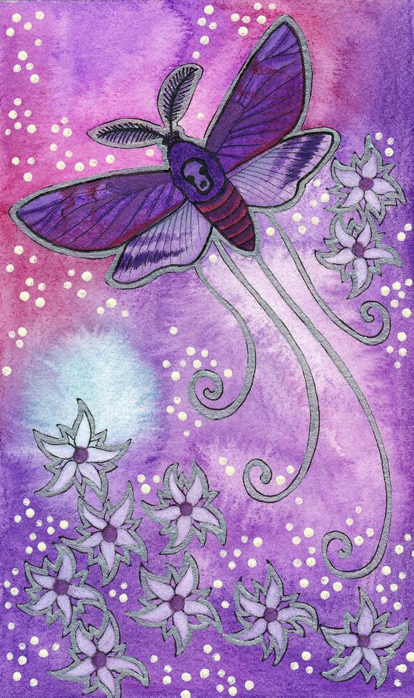 Violet Series - 06. Moth by Ravenari