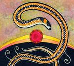 Black-Striped Burrowing Snake