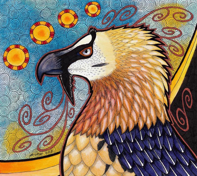 Bearded Vulture - Lammergeier as Totem