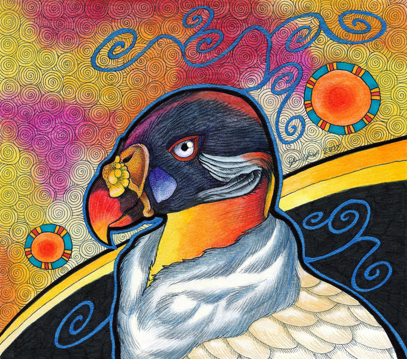 King Vulture as Totem by Ravenari