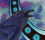 Common Raven as Totem II