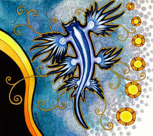 Blue Dragon/Glaucus atlanticus as Totem