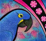 Hyacinth Macaw as Totem