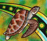Green Sea Turtle as Totem
