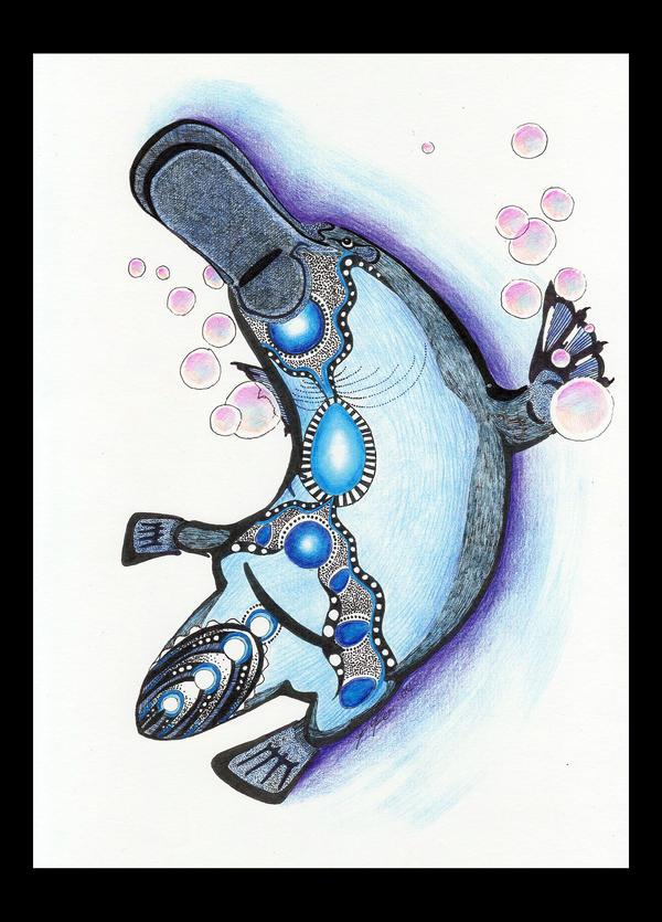 Platypus as Totem by Ravenari