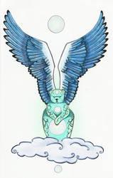 The Angel Bear of Moons by Ravenari