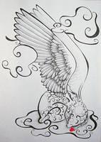 Angel Bear - Heart