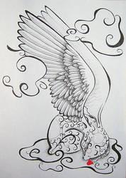 Angel Bear - Heart by Ravenari