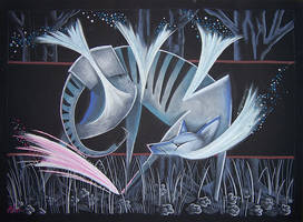 Thylacine - The Extinct Dance by Ravenari