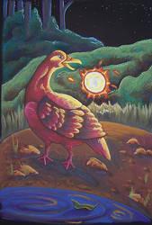 Duck as Firebird by Ravenari