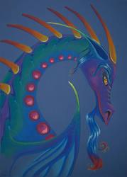 Teczejazi - Rainbow Dragon by Ravenari