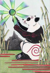 Panda by Ravenari