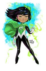 Green Lantern Lotus by Marcusthevisual