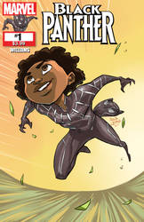 Young Black Panther