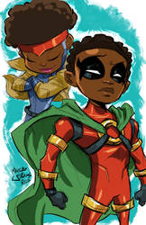 Tween Icon and Rocket by Marcusthevisual