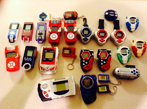 Digivice collection [updated] by PassionAndTheOpera4