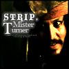Strip, Mister Turner by loudluna