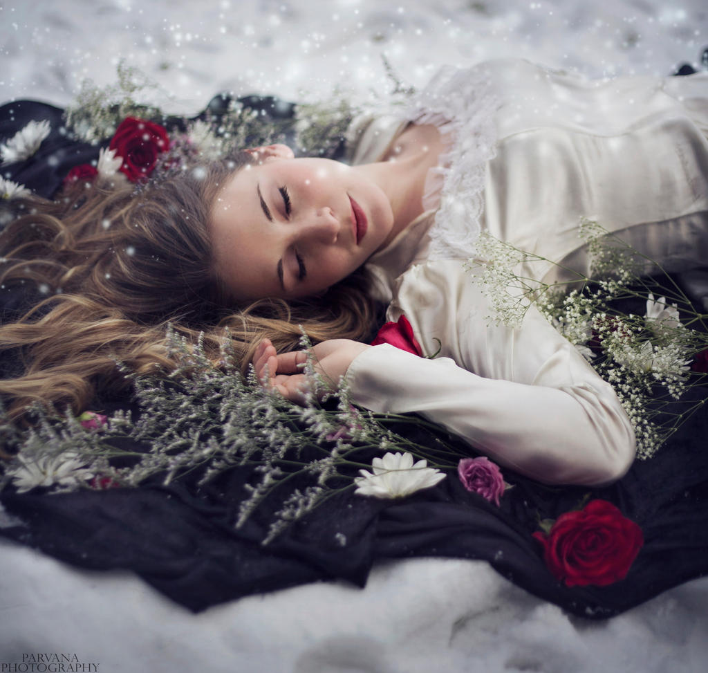 Sleeping Beauty by parvanaphotography