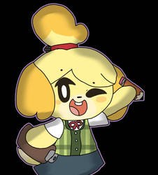 Isabelle drawing by PPGbunbun12