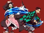 Demon Slayer siblings by starSavannah