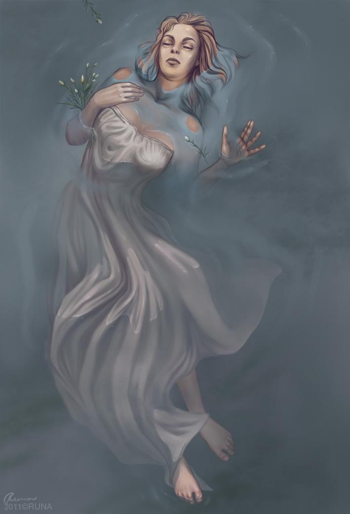 Ophelia by RunaRuna