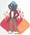 Anthro Dante Dalmatian