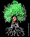 Ancestor Tree Postcard by Blue-Chara