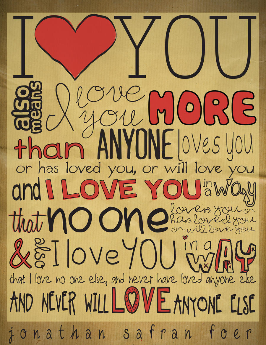 I Love You Quotes With Different Fonts. QuotesGram